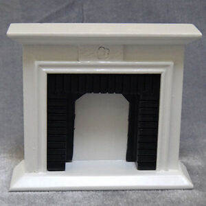 MiniFurniture-Well-Made-Fireplace-for-1-12-Scale-Dollhouse-Toy-Christmas