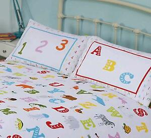Lovely-Kids-ABC-Alphabet-Numbers-And-Animals-Colourful-Junior-Duvet-Bedding-Set
