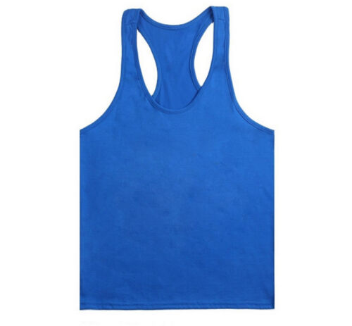 Y-Back Gym Tank Top Sport Fitness Workout Training Stringer Vest Bodybuilding A