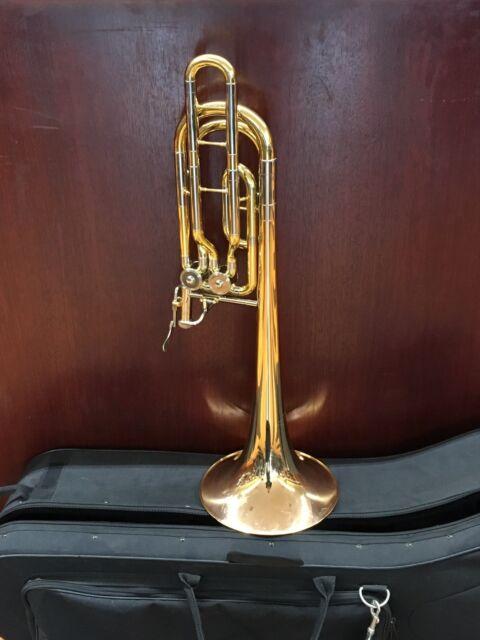 Yamaha YBL 620G Professional Dependent Bass Trombone With Case