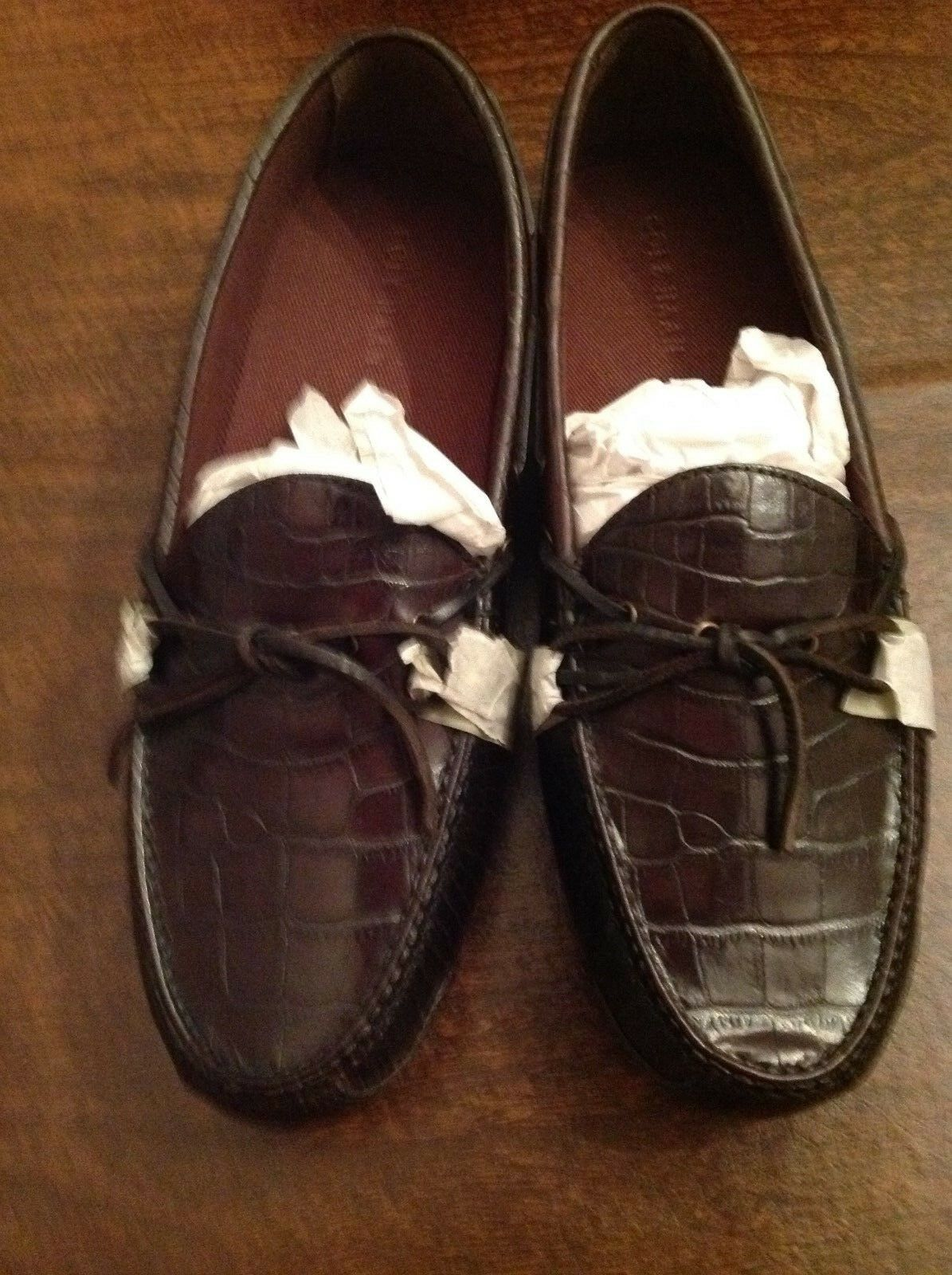 Cole Haan Men's Gunnison II Brown Leather Drivers(Loafers)  Size: 11.5M   NIB