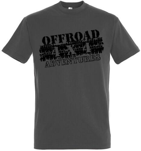 OFF ROAD 4x4 T-shirt Jeep ATV US CAR CAMION Trail v8 slcoff 1