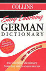 Collins Easy Learning German Dictionary: Colour Edition by HarperCollins Publishers (Paperback, 1998)