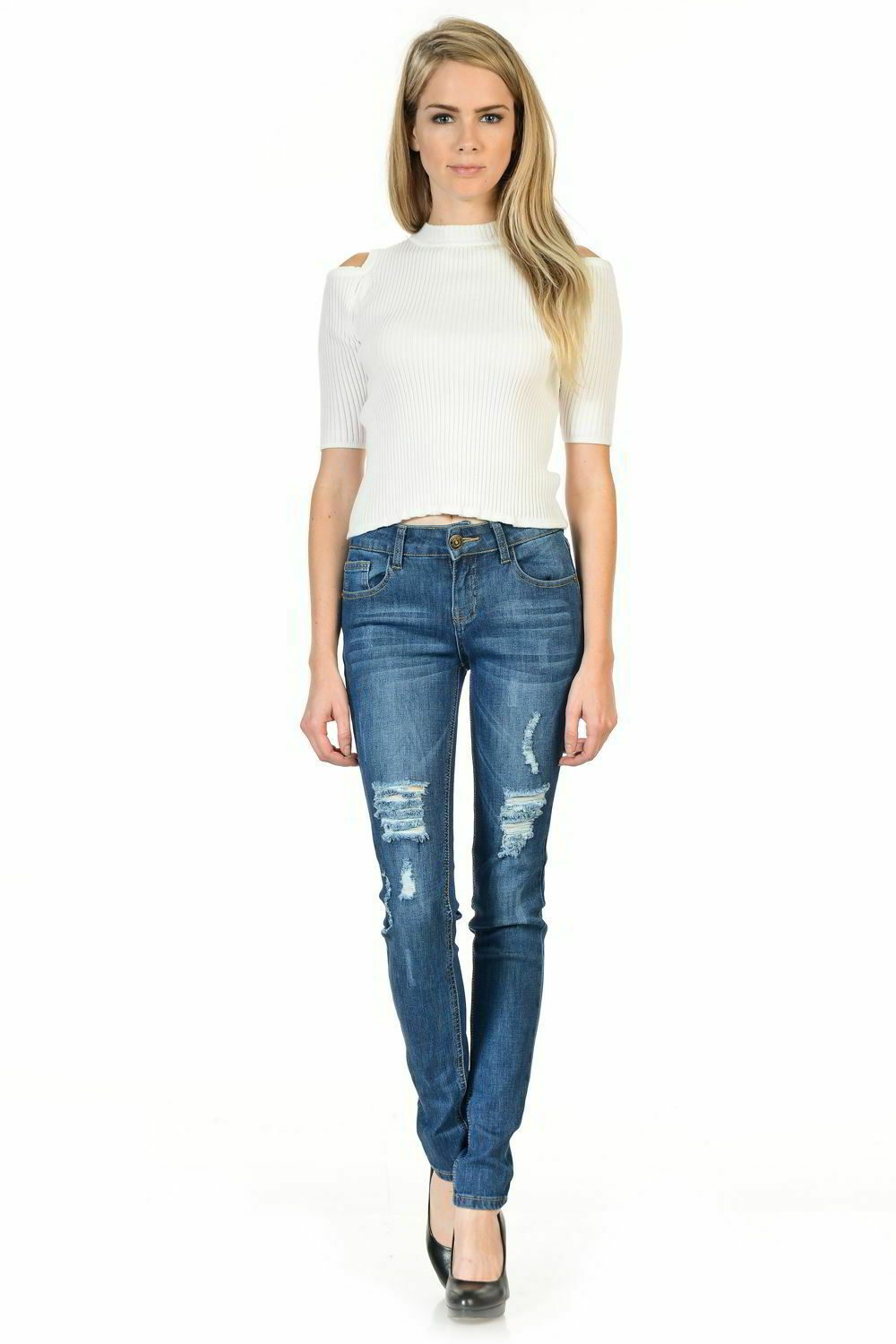 Sweet Look Premium Edition Women's Jeans - Skinny - Style M511-R