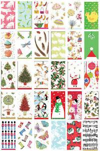 2-packs-of-Paper-Pocket-Novelty-amp-Chrismas-Tissues-designs-stocking-fillers