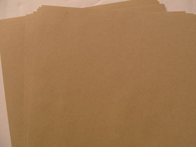 10 SHEETS A4 KRAFT BROWN 280 GSM DOUBLE SIDED CARD
