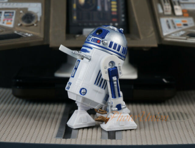 Hasbro Star Wars 3.75 Figure 1:18 Luke Skywalker Astromech Droid R2-D2 2010 S402