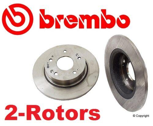 Set of 2 Brembo 25829 Rear Disc Brake Rotor/'s  42510SDAA00  42510 SDA A00