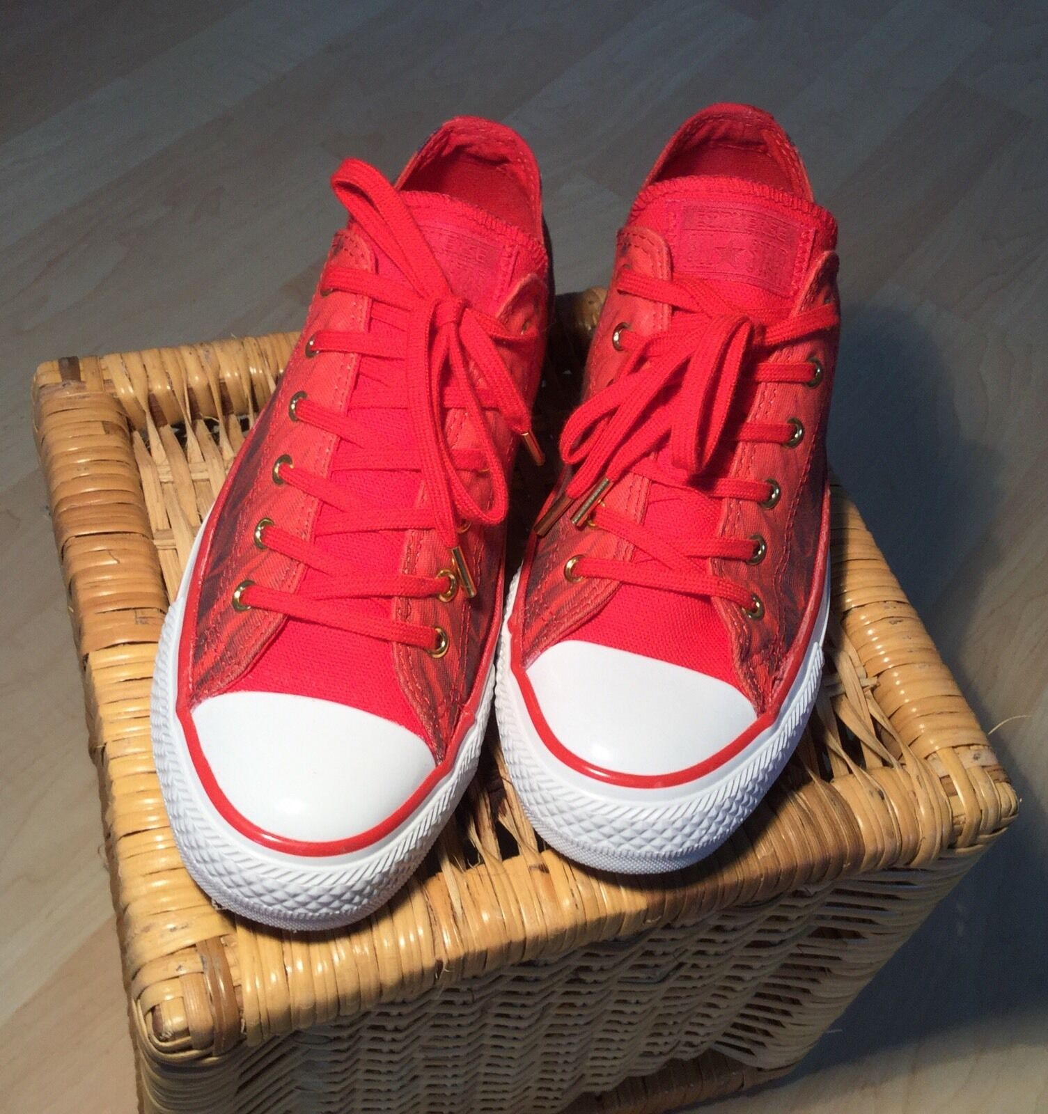 Sneaker Chucks Converse All Star 4,5) 4,5) Gr. 37 (UK 4,5) 4,5) Star Rot 4efb6f