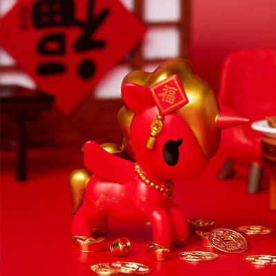 New TOKIDOKI Lunar New Year Series 1 Mini Figure Hong Bao Designer Art Toy