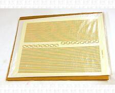 Virnex HO Decals Safety Orange 1/32 Inches Stripe Set 9104