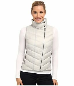 NEW-Patagonia-Prow-Down-Vest-Women-039-s-Size-L-Grey-600-Fill-NWT-149