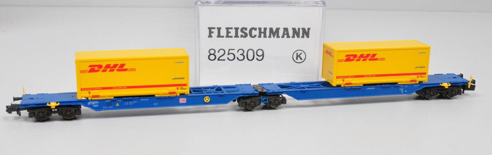 2tlg. Fleischuomon Piccolo 825309 Container Vagone Sggmrs 714715  Nuovo
