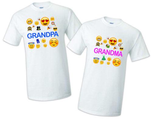 Emoji t shirt Birthday Matching Party Reunion Celebration Family Kid OMG face
