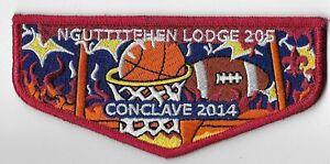 Boy-Scout-OA-205-Nguttitehen-Lodge-2014-Conclave-Flap