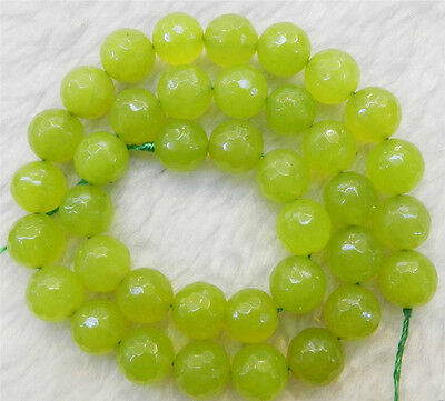 AAA 5x8mm Natural Green Peridot Faceted Abacus Loose Beads 15/""