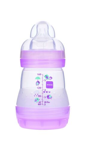 MAM Anti-Colic Bottle Girl  5 Ounces 1-Count Free Shipping