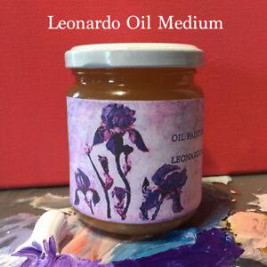 Finest-Private-Formula-Oil-Painting-Medium-LEONARDO-Medium-for-Pro-Artists