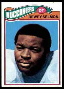 1977 TOPPS FOOTBALL DEWEY SELMON RC #178 NM-MT OR BETTER ...