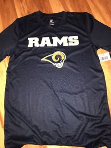 8d7c0a5b NFL Los Angeles Rams Boy's Shirt Athletic Polyester Tee Size Large ...