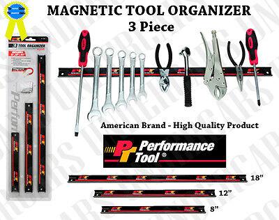 "38"" Magnetic Magnet Tool Knife Holder Holding Organizer Storage Rack Bar"