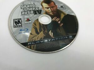 Grand Theft Auto IV for PlayStation 3 PLAYSTATION 3 (PS3) Only Disc