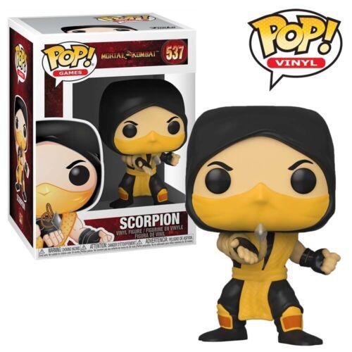 Scorpion Mortal Kombat Official Funko Pop Vinyl Figure Collectables