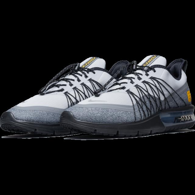 hot sale online b6d01 f1239 Nike Air Max Sequent 4 Utility Running Shoes Gray Black AV3236-003 Men's  NWOB