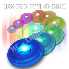 Lighted LED Mini Frisbee Disc.  Great for night time Frisbee.  1pc