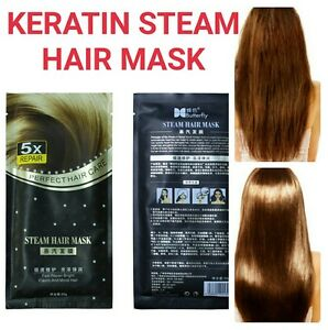 Brazilian Keratin Hair Treatment Mask Magic Shine Hair Straightening Head Mask Ebay