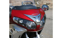 Chrome Windshield Panel Mask Accent For Goldwing Gl1800 & F6b 2012-16 (45-1295)