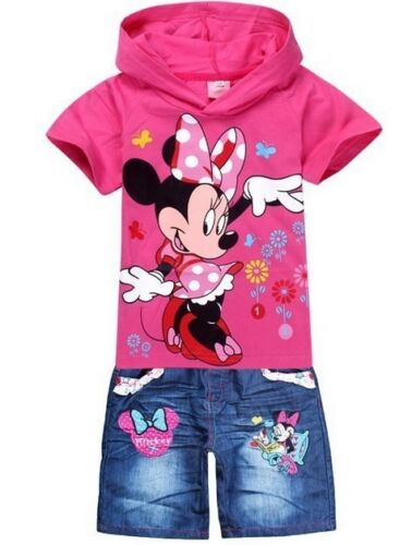 MINNIE MOUSE PINK SUMMER SHORT'S SET