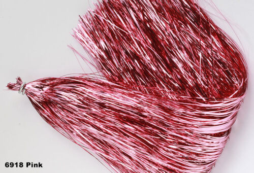 FLASHABOU ORIGINAL Hedron Musky Bucktail Lure Tinsel Flash Fly Tying Material