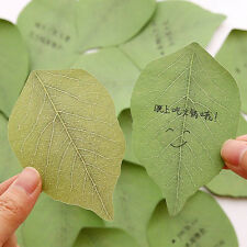 Leaves Stickers Post it Leaves Shape Memo Pad Sticky Notes DIY Message Stickers