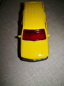 MATCHBOX-97-Chevy-Tahoe-COCA-COLA-GIALLO-1997-vetrina-modello-da-collezione-RAR