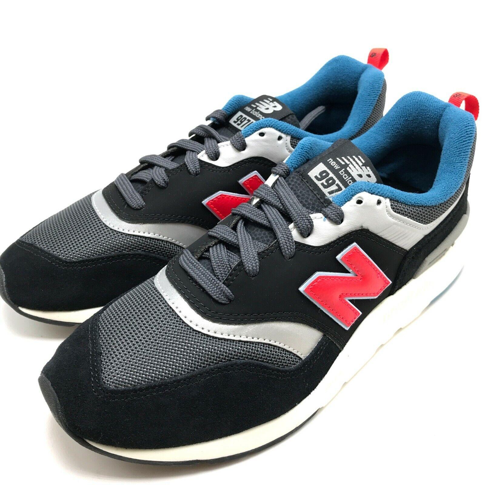 New Balance Classics Men's Running shoes Black Red CM997HAI