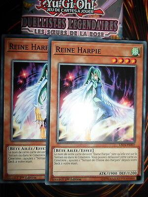 Carte YU GI OH REINE HARPIE LED4-FR007