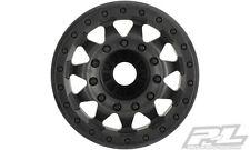 "Pro-Line Racing F-11 2.8"" (Traxxas Style Bead) Black Wheels 17mm hex PRO275503"