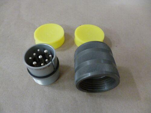 9P Amphenol 10-107624-11P Circular MIL Connector Size 24 5935-01-110-7942