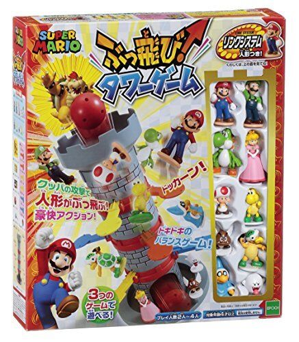 Tänk Super Mario Buntake Tower spel SB