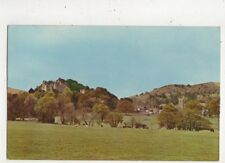 Dunster Castle & Village From Old Polo Ground 1966 Postcard 818a