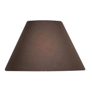 Mushroom Cotton Coolie Fabric Lamp Shade 12 inch S501/12MU - Oaks Lighting