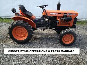 KUBOTA B7100 TRACTOR OPERATIONS & PARTS MANUALs - also covers B7100 on kubota classic, kubota steel wheels, kubota gf1800 tractor, kubota bx22 tractor, pug 4x4 tractor, wake tractor, kubota f2000 tractor, kubota bx23 tractor, kubota b7800 tractor, case 4490 tractor, kubota b2620 tractor, kubota m6950 tractor, kubota bx backhoe dimensions, kubota belly blade, kubota m7500 tractor, kubota mowing tractors, 3-point hitch backhoe attachment for tractor, kubota m5500 tractor, kubota bx lawn tractors, kubota b8200 tractor,