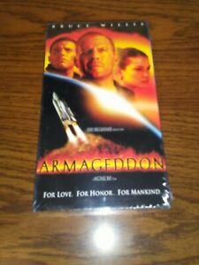 NEW-Armageddon-VHS-1998-Bruce-Willis-Ben-Affleck-Liv-Tyler-Steve-Buscemi