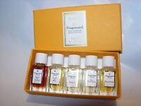 Womens Fragonard Eau Fantasque Perfume Parfum 5x2 Ml Vanity Bottles Dahlia Rare