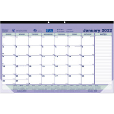 Brownline Monthly Desk Pad 17 34 X 10 78 January To December 2022 C181700