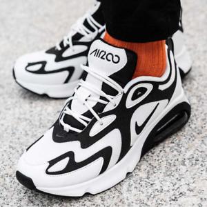 New-Nike-Men-039-s-trainers-NIKE-AIR-MAX-200-sneakers-white-black-109-95
