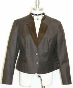 Wool 12 About B42 Women Details Dress Jacket M Lodenfrey Hunting Short 46 Austria Brown Riding nXNw0Pk8O