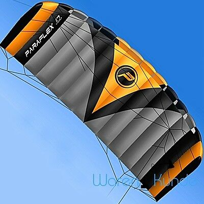 || | PARAFLEX QUAD 1.7 Wolkenstürmer Kite Lenkdrachen Actionkite Lenkmatte