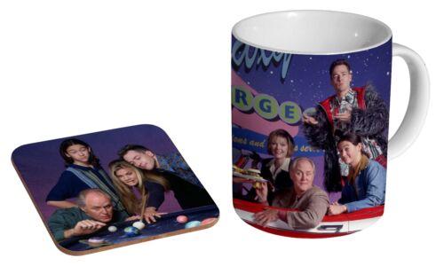 Coffee Mug Coaster Gift Set 3rd Rock From The Sun Ceramic Tea